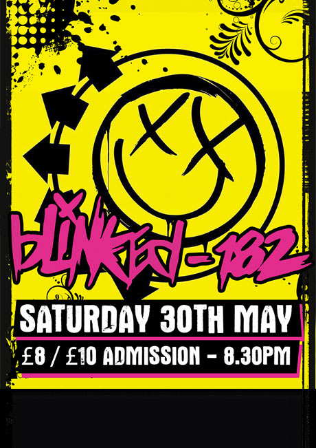 BLINKED 182 - SAT 30TH MAY