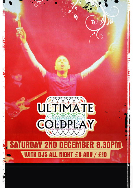 ULTIMATE COLDPLAY - SAT 2ND DEC