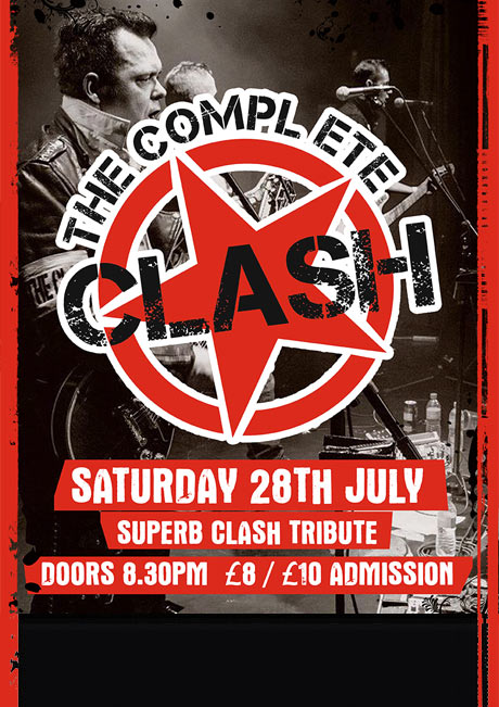 COMPLETE CLASH - SAT 28TH JULY