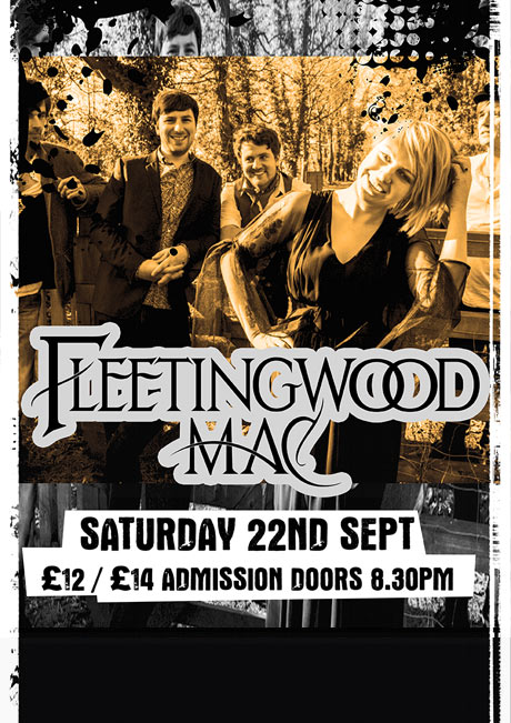FLEETINGWOOD MAC - SAT 22ND SEPT