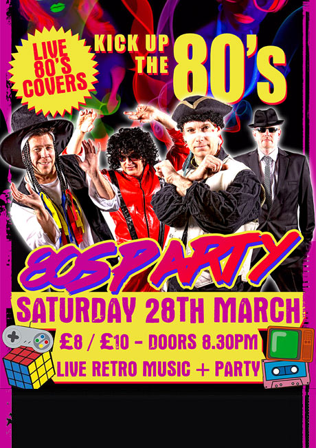 KICK UP THE 80S - NEW DATE TBC