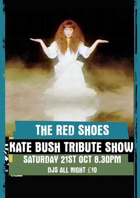 THE RED SHOES - SAT 21ST OCT