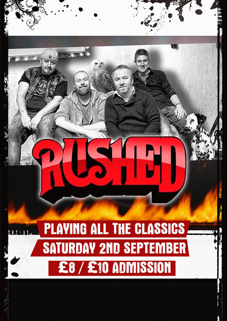 RUSHED - SAT 2ND SEPT