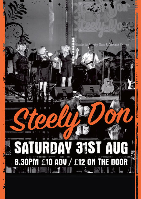 STEELY DON - SAT 31ST AUGUST