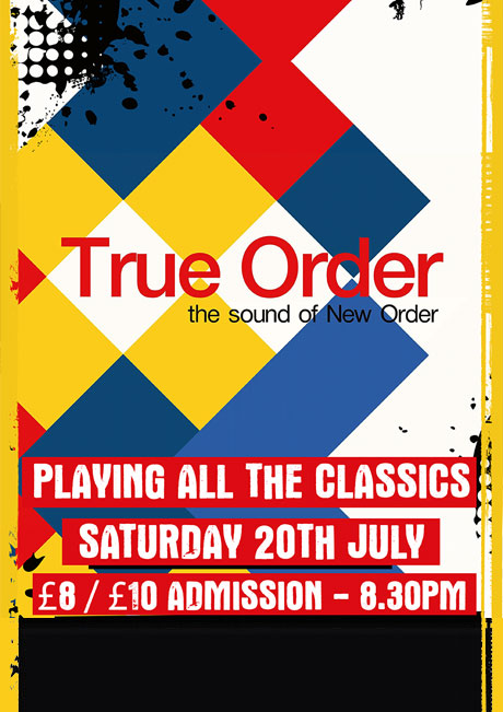 TRUE ORDER - SAT 20TH JULY