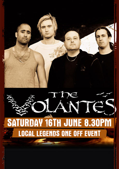 THE VOLANTES - SAT 16TH JUNE
